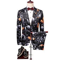 $enCountryForm.capitalKeyWord UK - Autumn Mens Dress Two-Piece Fashion Casual Blazer with Pant Slim Design Terno Masculino Asia size S M L XL XXL XXXL XXXXL