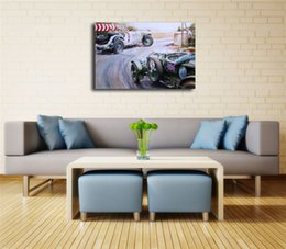 16x24 painting Australia - The Vintage Car HD Canvas Painting Print Living Room Home Decor Modern Wall Art Oil Painting Poster