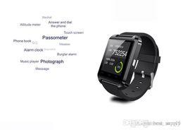 $enCountryForm.capitalKeyWord Australia - u8 smart watch MTK chip 6260 6261A 230mah 160mah Android bluetooth smart watch u8