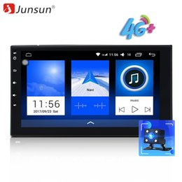 "2g ram tablet Australia - car dvd Junsun 4G LET 2 Din 7""Android Car Multimedia Radio Player GPS 2G RAM 32GB ROM Tap PC Tablet OBD2 Univeral autoradio Stereo Audio"