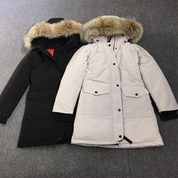 $enCountryForm.capitalKeyWord NZ - Women Trillium Parka Outdoors Fur Down Jacket Hiver Warm Windproof Goose Down Coat Thicken Hooded Jacket Manteaus Doudoune E07