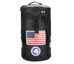 High Quality Backpack Brands UK - Backpack men and women brand alliance signature high quality travel bag large capacity fashion stitching bucket bag new listing