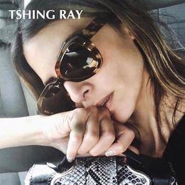 1a9c373acf2 TSHING RAY Oversized Vintage Female Fashion Cateye Sunglasses Women Ladies  Brand Designer Sun Glasses Eyewear UV400 Gafas De Sol