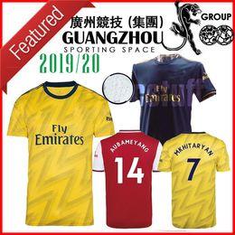 19 20 Arsen Camisolas de Futebol em casa vermelho top quality new 2019 away camisetas de fútbol amarelo em terceiro azul escuro maillots de foot jersey camisas em Promoção