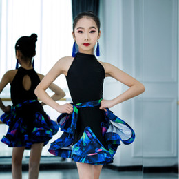 f7c8b162c489 Latin dance costumes for girLs online shopping - Children Professional  Latin Dance Dress for Girls Ballroom