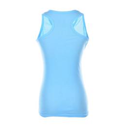 Low cut tank tops women online shopping - Summer Solid Cotton Self cultivati Sleevel Camisole tops Sexy Low cut Basic T shirts Tank Top women s short T shirt