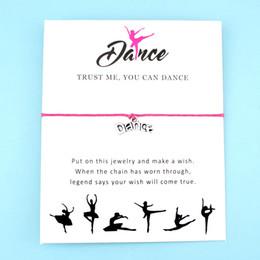 $enCountryForm.capitalKeyWord Australia - Gift For Her Girls Silver Ballet Dancers Dancing Dream Dance Charm Bracelets For Women