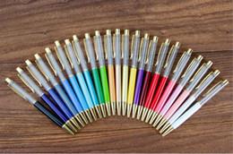China Blank Crystal Diamond Ballpoint Pens glitter Stylus Touch Pen for Writing Stationery Office & School Pen Ballpen Black Blue suppliers