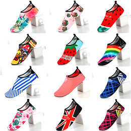 Sock antiSkid Shoe online shopping - Hot Sale Diving Socks Snorkeling Sock Beach Shoes Antiskid Leg Protection Soft Sole Comfortable Breathable Printing Factory Direct cjG1