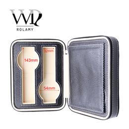 $enCountryForm.capitalKeyWord Australia - CARLYWET Portable 4 Grids Luxury PU Leather Showing Display Wrist Watch Collector Storage Box Case Holder Tray