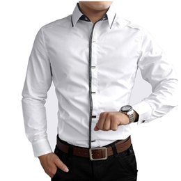 $enCountryForm.capitalKeyWord Canada - Spring Autumn Cotton Dress Shirts High Quality Mens Casual Shirt,Casual Men Plus SizeXXXL Slim Fit Social Shirts