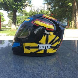 Painting Faces Australia - Motorcycle Helmets Motocross Racing Helmet Off Road Motorbike Full Face casing wrestling helmet Earth spray paint summer helmet