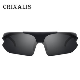 9db762d60e Luxary- wholesale Brand Design Clip On Sunglasses Polarized Men Oversized  Driving Rimless Sun Glasses For Male Shades Fashion Male UV400