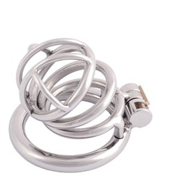 $enCountryForm.capitalKeyWord NZ - Medical Grade Stainless Chastity Device Male Cock Cage Adult Game Sex Toy