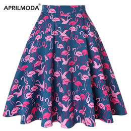 868fbc373be54 High Waist Knee Length Skater Skirts Online Shopping | High Waist ...