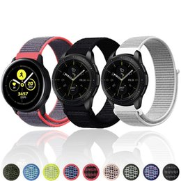 Discount huawei watch band - 22mm 20mm watch Strap for Samsung galaxy watch active 42mm 46mm Gear S3 s2 Frontier Classic Band huami amazfit bip huawe