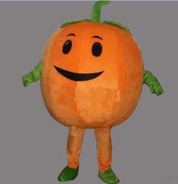 Adult Size Pumpkin Costume Australia - 2018 High quality hot Cute Pumpkin Adult Size Mascot Costume Fancy Birthday Party Dress Halloween Carnivals Costumes