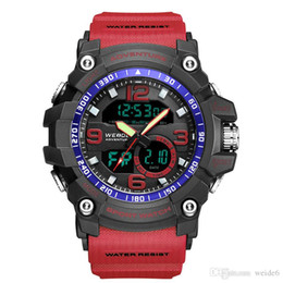 $enCountryForm.capitalKeyWord Australia - Weide factory wholesale price LCD waterproof custom brand multi-functional digital watch sport wrist men watch