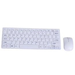 slim kit 2019 - Ultra Thin 2.4GHz Wireless Keyboard + Cover and Mouse Kit for DesktopLaptop discount slim kit