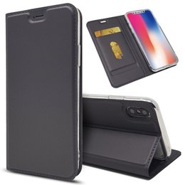premium leather phone cases 2019 - For iPhone XS Wallet Case, Premium PU Leather Cell Phone Flip Cover for iPhone 5,6,7,8,X,XS,XS MAX,XR discount premium l