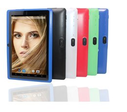 Tablet Mid Q88 Australia - A33 Q88 Quad core 7 Inch Allwinner Tablet PC Android 4.4 Dual Camera 4GB 512MB Capacitive screen WIFI MID tablet pc