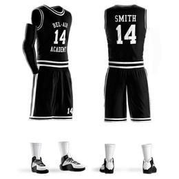 Short Basketball Jerseys Canada - Sublimation Printing Blue White Any Color Basketball Clothing Basketball Uniform Jersey Short Custom