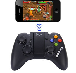 bluetooth game controller android phone NZ - Free Shipping DHL IPEGA PG-9021 Wireless Bluetooth Game Controller PG 9021 Android Phone Gamepad Gaming Joystick Joypad For TV Box