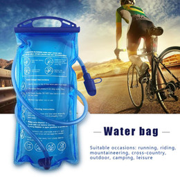 $enCountryForm.capitalKeyWord Canada - 3L Outdoor Cycling Running Foldable TPU Water Bag Hydration Bladder For Camping Hiking Climbing Mountaineering Sport Drinking