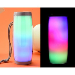 phone sounds mp3 Australia - TG157 Portable LED Lamp Speaker Waterproof Fm Radio Wireless Boombox Mini Column Subwoofer Sound Box Mp3 USB Phone Computer Bass FOREV 5pcs