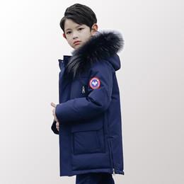$enCountryForm.capitalKeyWord UK - Children Down Padded Teenage Clothing Big Boys Winter Jacket Parkas Warm Long Thickening Outerwear Clothing 8 10 12 14 Year