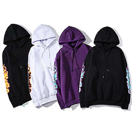Wholesale mens hoodies resale online - 20ss Mens Stylist Hoodies Fashion Men Women Casual Jacket Mens Autumn Hooded Hoodie Loose Sweatshirt Colors Size M XXL