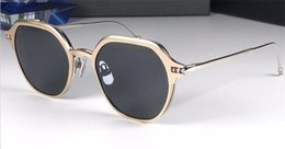 Dual sunglasses online shopping - New fashion designer sunglasses round frame simple flip optical dual use popular style uv400 protection glasses top quality