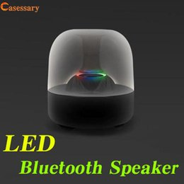 led speaker packaging Canada - LED Bluetooth Speakers Subwoofer Speaker Wireless Bluetooth Mini Speaker Portable Speakers With Retail Package DHL Shipping