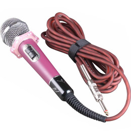 High Quality Computer Mic UK - YX-955 Dynamic Vocal Microphone with On and Off Switch Vocal Wired Karaoke Handheld Mic HIGH QUALITY for Stage and Home Use
