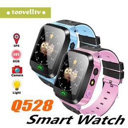 $enCountryForm.capitalKeyWord Australia - Original Q528 Y21 GPS Smart Watch With Flashlight Baby Watch 1.44inch OLED Screen SOS Call Location Device Tracker for Kid Safe