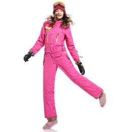 Ski Suits Australia - Winter Women's Ski Suit Snowboard Ski Jacket and Pants Snowboarding Sets Windproof waterproof Warm Skiing Suits Online Shop