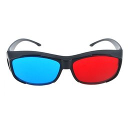 $enCountryForm.capitalKeyWord Australia - 2PCS 3D Glasses TV Virtual Movie Cinema DVD Vision Dimensional Anaglyph Black Frame Easy Wear Game Fashion Red Blue Ultra Clear