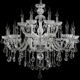 $enCountryForm.capitalKeyWord Australia - modern crystal chandelier living room led home chandeliers double layer chandelier candle bedroom modern crystal lighting chandelier