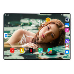 TableT ocTa core 4g lTe online shopping - 10 inch Tablets Octa Core GB RAM GB ROM G G LTE IPS Android Tablet PC Netflix Goolgle Store GB memory Card gift
