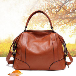 $enCountryForm.capitalKeyWord NZ - messenger bag FoxTail & Lily Women Genuine Leather Handbags Luxury Quality Real Leather Shoulder Crossbody Bag Fashion Ladies Messenger Bags