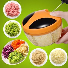 $enCountryForm.capitalKeyWord Australia - Manual Fruit Vegetable Chopper Hand Pull Food Cutter Onion Nuts Grinder Mincer Shredder Multifunction Kitchen Accessories