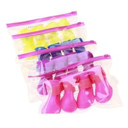 $enCountryForm.capitalKeyWord Australia - Small Large Dog Waterproof Protective Rain Boot 4PCS Set Outdoor Pet Rain Boots Non-slip Durable Pet Rain Shoes 8 Colors L BC BH0982-3