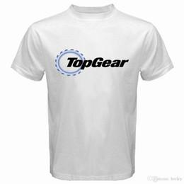 Vente en gros Imprimé T-shirts Imprimé CourtNouveau TOP Automobile Meazine Séries TV Loo Hommes Blanc TEAR -Shirt Taille S à 3XL Plus Size Vêtements de loisirs