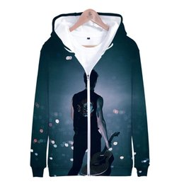 Zipper Clothes Australia - 3D Shawn Mendes Singer Sweatshirt Streetwear Men Women Hoodies Hooded Zipper Harajuku Sweat Hip Pop Clothes