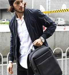 American Backpacks Australia - 2019 new computer backpack male European and American trend bag British business backpack men casual outdoor