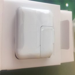 High Tablets Apple Australia - 100% high quality 12W 2.4A US EU plug USB AC power adapter wall charger household charger, suitable for tablet computers with retail boxes