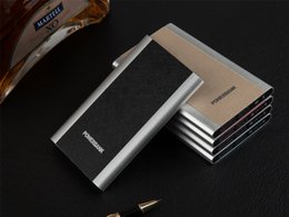 $enCountryForm.capitalKeyWord Australia - 4000mAh Thin Slim USB Charger PU Powerbank Input Output 5V 1A Power Bank for Any Mobile Phone