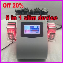 $enCountryForm.capitalKeyWord Australia - Bio RF Skin Rejuvenation Ultrasonic Vacuum Cavitation Lipo Laser Body Slimming Beauty Machine US free tax