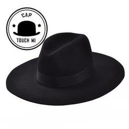 ceba7602d1c92 Nuevo Vintage Otoño Invierno Lana Hombres de las mujeres Sombreros de  Fedora Floppy Trilby sombrero de fieltro señoras gorra de vaquero envío  gratis