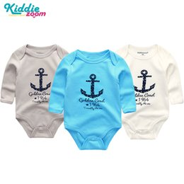 Tiny Clothes Australia - 3pcs lot Summer Baby Bodysuits Tiny Cottons 2019 Body Baby Girl Clothes Roupas Long Sleeve Infant Overalls Bodies Suits Newborn Y19050602